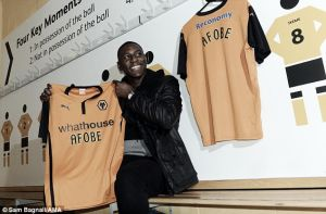 Player look: Afobe scores on his Molineux debut