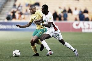 África do Sul vence Burkina Faso com autoridade e continua sonhando com ida à Rússia