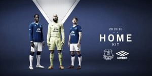 El Everton presenta su nueva primera equipación
