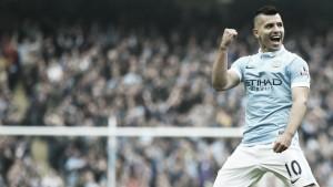 Kun Agüero, MVP de la jornada 22 de la Premier League