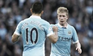 Pellegrini and de Bruyne hail Sergio Aguero as 'world class' following Newcastle exploits