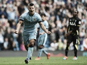 Manchester City 4-1 Tottenham Hotspur: Awesome Aguero steals the show