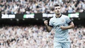 Agüero, mejor jugador del City en octubre