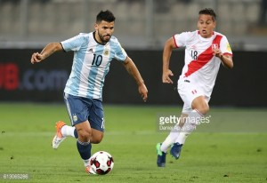 Manchester City's Aguero confirms fitness after calf worry with Argentina