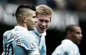 Manchester City 6-1 Newcastle United: Agüero shines as Citizens thump Geordies on home soil