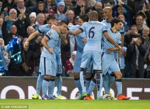 Manchester City 3-1 Liverpool: Manchester City Player Ratings