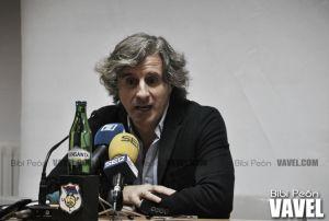 """Roberto Aguirre: """"No pensamos en otra cosa que no sea ganar el partido"""""""