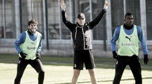 Aguirre, satisfecho con la actuación en la Copa Catalunya