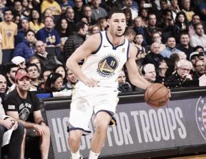 Warriors superam ausência de Durant, batem Timberwolves e lideram Conferência Oeste