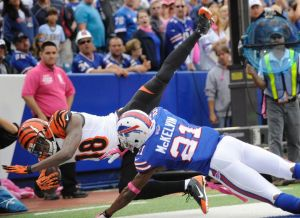 Los Bengals rescatan una sufrida victoria en Buffalo