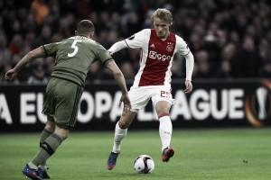 Kasper Dolberg y Nicolai Jorgensen continúan en duda