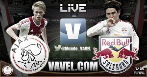 Ajax vs Red Bull Salzburg en vivo y en directo online