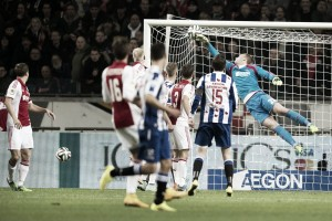 Resumen Heerenveen vs Ajax en Eredivisie 2016 (0-1)