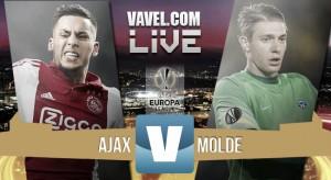 Resultado Ajax - Molde en Europa League 2015 (1-1): sin alma y afuera