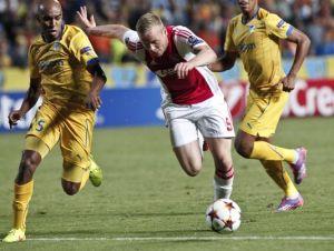 APOEL Nicosia 1-1 Ajax: All level in Nicosia as APOEL hold Ajax