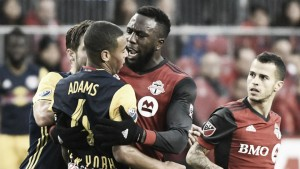 Toronto FC advance after a fiery encounter with New York Red Bulls