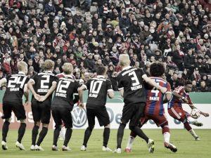 Bayern Munich 2-0 Eintracht Braunschweig: Mario Götze fires Bayern into the last eight