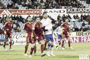 """Javi Álamo: """"Estamos centrados en preparar el partido contra el Barcelona B"""""""