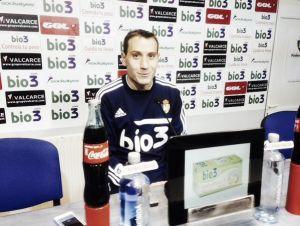 """Alan Baró: """"Lo primordial es sumar los 50 puntos y consolidar la salvación"""""""