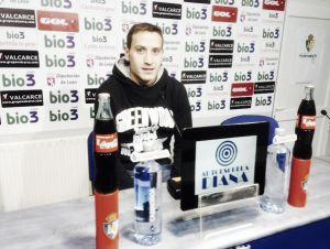 """Alan Baró: """"La idea es conseguir la victoria y seguir fuertes en el Toralín"""""""