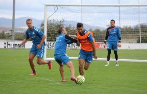 Plan de entrenamiento para el encuentro ante el Osasuna
