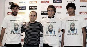 Deportivo Alavés y Sporting de Gijón lucirán camisetas en apoyo a la búsqueda de Borja Lázaro