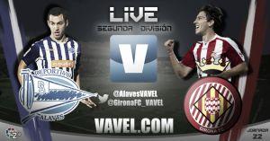 Resultado Alavés - Girona en directo online en Liga Adelante 2015 (1-0)