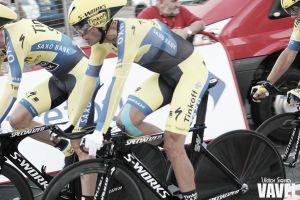 """Alberto Contador: """"Es mala suerte caerme en la misma rodilla"""""""