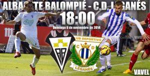 Albacete - Leganés: en busca de la primera victoria como local y como visitante