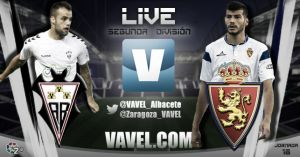 Resultado partido Albacete Balompié - Real Zaragoza en directo online