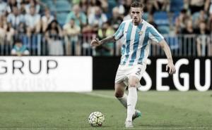 El Málaga CF no descarta poder contar con Albentosa ante el Athletic