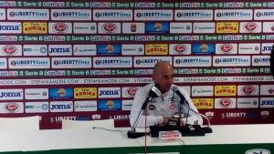 """Salernitana, mister Bollini deciso: """"Continuiamo per questa strada"""""""