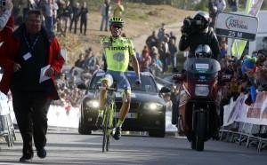 Contador se exhibe en Malhao