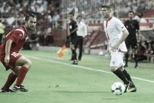 """Alberto Moreno: """"Es un orgullo llevar el 16 de Antonio Puerta"""""""