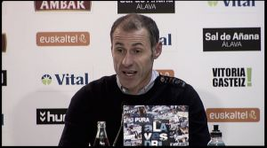 """Alberto López: """"Muy contento por la victoria, son tres puntos muy buenos para nosotros"""""""
