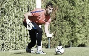 Alberto Varo, lesionado del menisco de la rodilla derecha