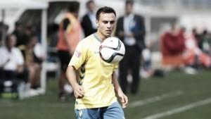 Álvaro García, único jugador de campo que no tuvo minutos en el arranque cadista