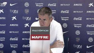 """Alcaraz: """"Tenemos ilusión por hacer un buen partido"""""""