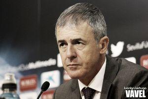 """Alcaraz: """"Estoy muy contento con la actitud del equipo"""""""