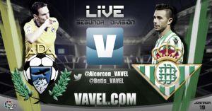 Alcorcón - Real Betis en directo
