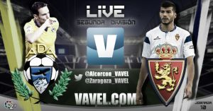 Alcorcón - Real Zaragoza en directo online