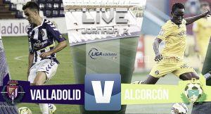 Resultado Real Valladolid - Alcorcón en Segunda División 2015 (2-0)