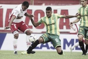 Huracán 2-0 Aldosivi: puntuaciones de la derrota