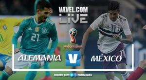 México se vistió de David y venció al Goliat alemán en su debut en Rusia 2018