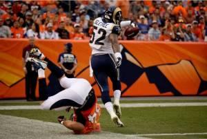 Los Broncos triunfan ante unos agresivos Rams