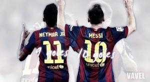 Messi y Neymar, unidos para triunfar