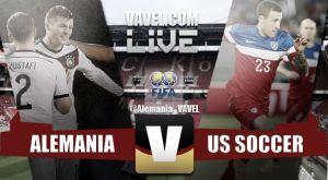 Resultado del partido Alemania vs Estados Unidos en amistoso FIFA 2015 (1-2)