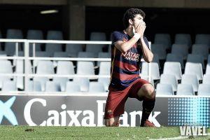 El Barça B no pudo con el colista