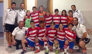 El equipo alevín del Granada CF participará en el XXII Campeonato Nacional
