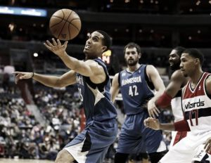 Los Wolves tropiezan en Washington